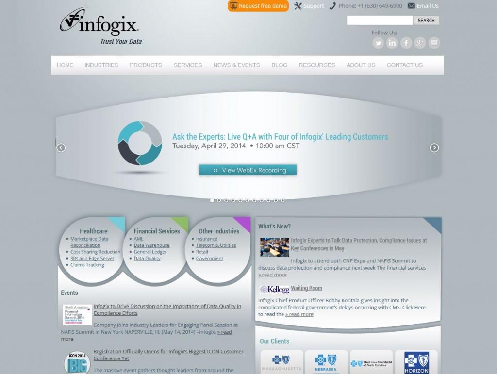 Infogix.com V2
