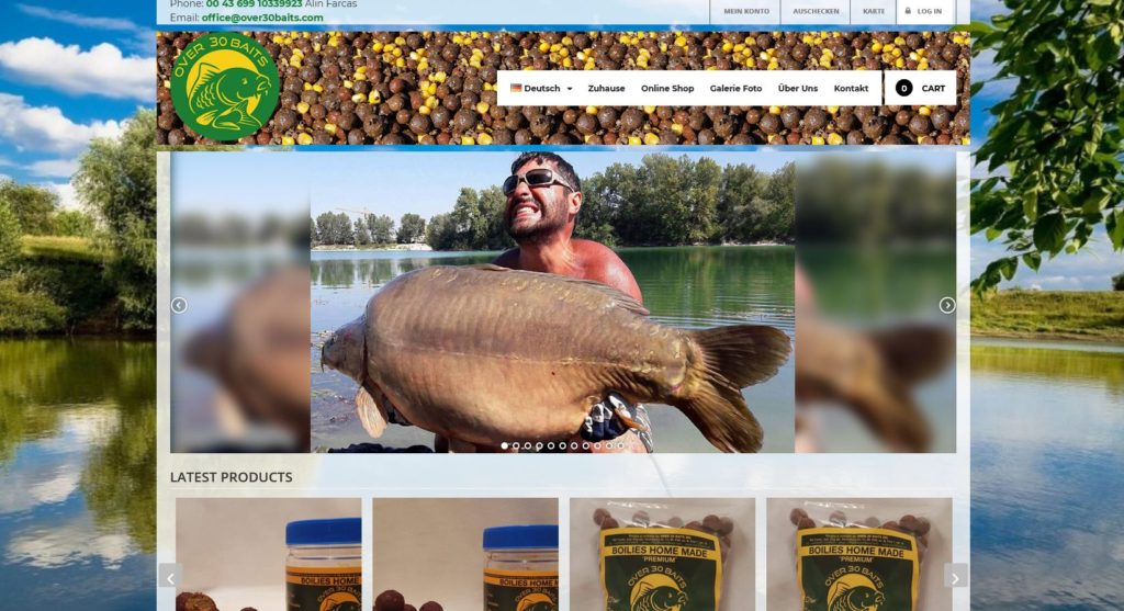 Over 30 baits